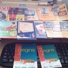 Catálogos publicitarios: LOTE 13 SOBRES PARA NEGATIVOS ANTIGUOS. Lote 194754436