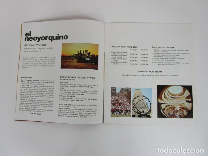 Catálogos publicitarios: Catálogo Grandes Viajes Iberia - Año 1970 - Foto 3 - 194767912