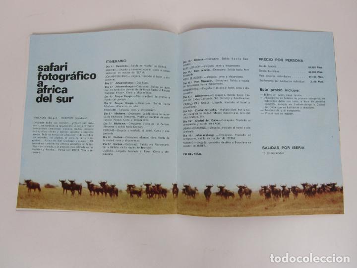 Catálogos publicitarios: Catálogo Grandes Viajes Iberia - Año 1970 - Foto 4 - 194767912