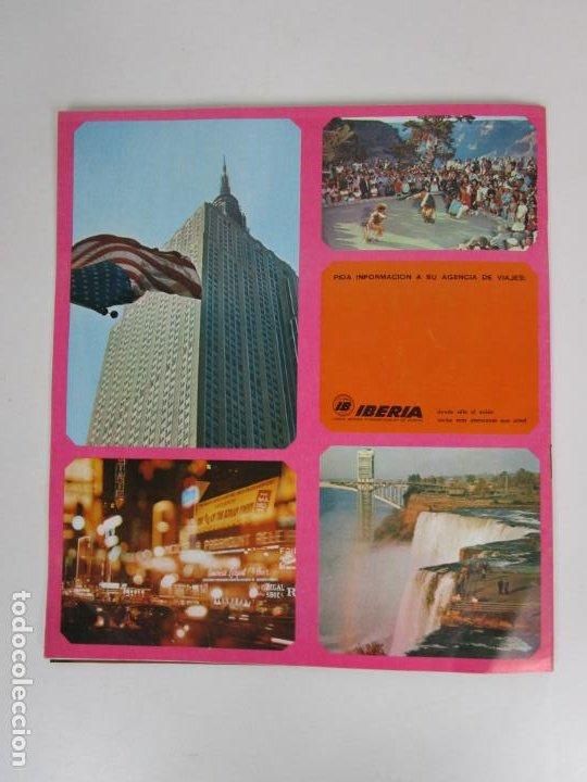 Catálogos publicitarios: Catálogo Grandes Viajes Iberia - Año 1970 - Foto 5 - 194767912