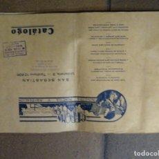 Catálogos publicitarios: CATÁLOGO EMPROMA INDUSTRIA MINERA Y NAVEGACIÓN SAN SEBASTIÁN.. Lote 194872202