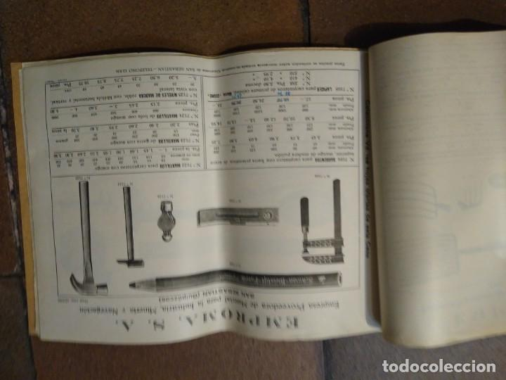 Catálogos publicitarios: Catálogo Emproma industria minera y navegación San Sebastián. - Foto 3 - 194872202