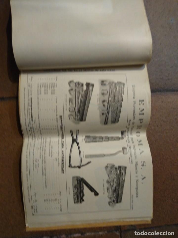 Catálogos publicitarios: Catálogo Emproma industria minera y navegación San Sebastián. - Foto 4 - 194872202