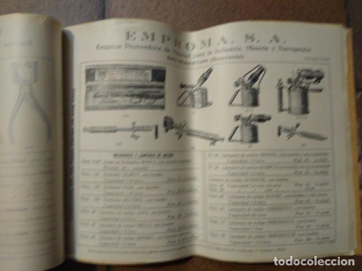 Catálogos publicitarios: Catálogo Emproma industria minera y navegación San Sebastián. - Foto 5 - 194872202