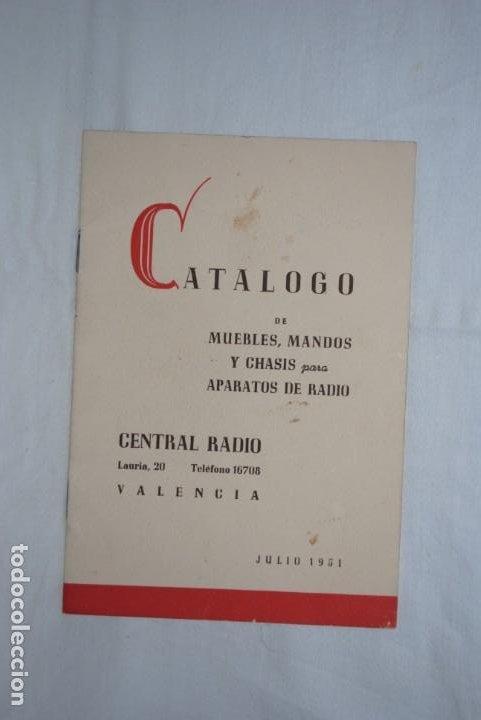 CATALOGO DE RADIOS , AÑO 1951 (Coleccionismo - Catálogos Publicitarios)