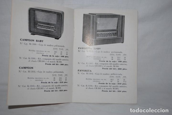 Catálogos publicitarios: CATALOGO DE RADIOS , AÑO 1951 - Foto 2 - 194964618