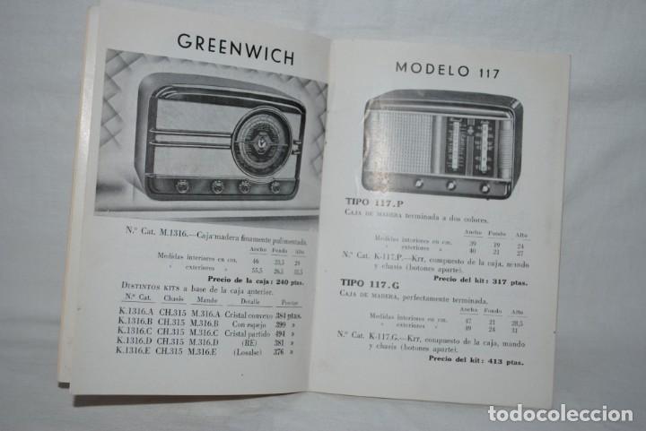 Catálogos publicitarios: CATALOGO DE RADIOS , AÑO 1951 - Foto 3 - 194964618