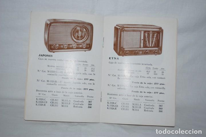 Catálogos publicitarios: CATALOGO DE RADIOS , AÑO 1951 - Foto 4 - 194964618