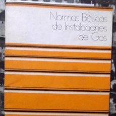 Catálogos publicitarios: 1960 DECADA, NORMAS PARA INSTALACIONES DE GAS. Lote 194967546