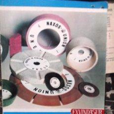 Catálogos publicitarios: 1960 DECADA, CATALOGO LISTAS DE PRECIOS DE UNESA DE ABRASIVOS. Lote 194967813