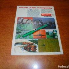 Catálogos publicitarios: PUBLICIDAD 1985: FIRESTONE. Lote 195059366