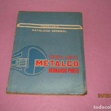Catálogos publicitarios: ANTIGUO CATÁLOGO GENERAL DE FERRETERIA HIERROS GERONA METALCO DE BERNARDO PRIETO - AÑO 1967. Lote 195126717