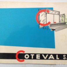 Catálogos publicitarios: CATALOGO LISTAS DE PRECIO DE MUEBLES DE CUARTO DE BAÑO COTEVAL S L. Lote 195132751