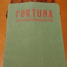 Catálogos publicitarios: MURCIA, BALNEARIO DE FORTUNA 1906. GUÍA DEL BAÑISTA. PERFECTO ESTADO.. Lote 195147925