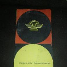 Catálogos publicitarios: ANTIGUO FOLLETO MAQUINARIA ASIMER, EN COLOR, HERRAMIENTAS BILBAO.. Lote 195155286