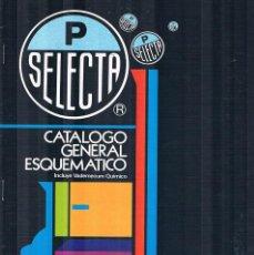Catálogos publicitarios: FOLLETO PUBLICITARIO CATALOGO P SELECTA VADEMECUM QUIMICO EXPOQUIMIA 78 JOAQUIN PUIG. Lote 195267812