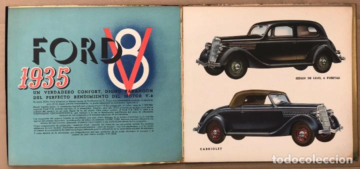 Catálogos publicitarios: CATALOGO FORD V-8. AÑO 1935. EN CASTELLANO - Foto 2 - 195274883