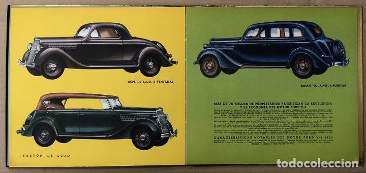 Catálogos publicitarios: CATALOGO FORD V-8. AÑO 1935. EN CASTELLANO - Foto 4 - 195274883