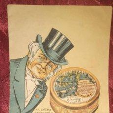 Catálogos publicitarios: FOLLETO PUBLICITARIO PASTILLAS VALDA DE LOS AÑOS 30 CON 18 PAGINAS. Lote 195280915