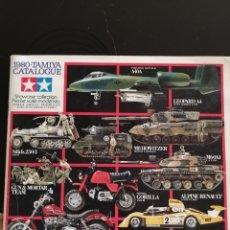 Catálogos publicitarios: CATÁLOGO TAMIYA MODEL KITS 1980. Lote 195295858