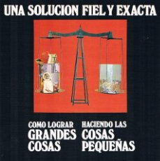 Catálogos publicitarios: FOLLETO PUBLICIDAD EXPOQUIMIA 78 DUÑO MODELOS AZ-7 SZ-7D SOPAC 100 AZ 10. Lote 195333638