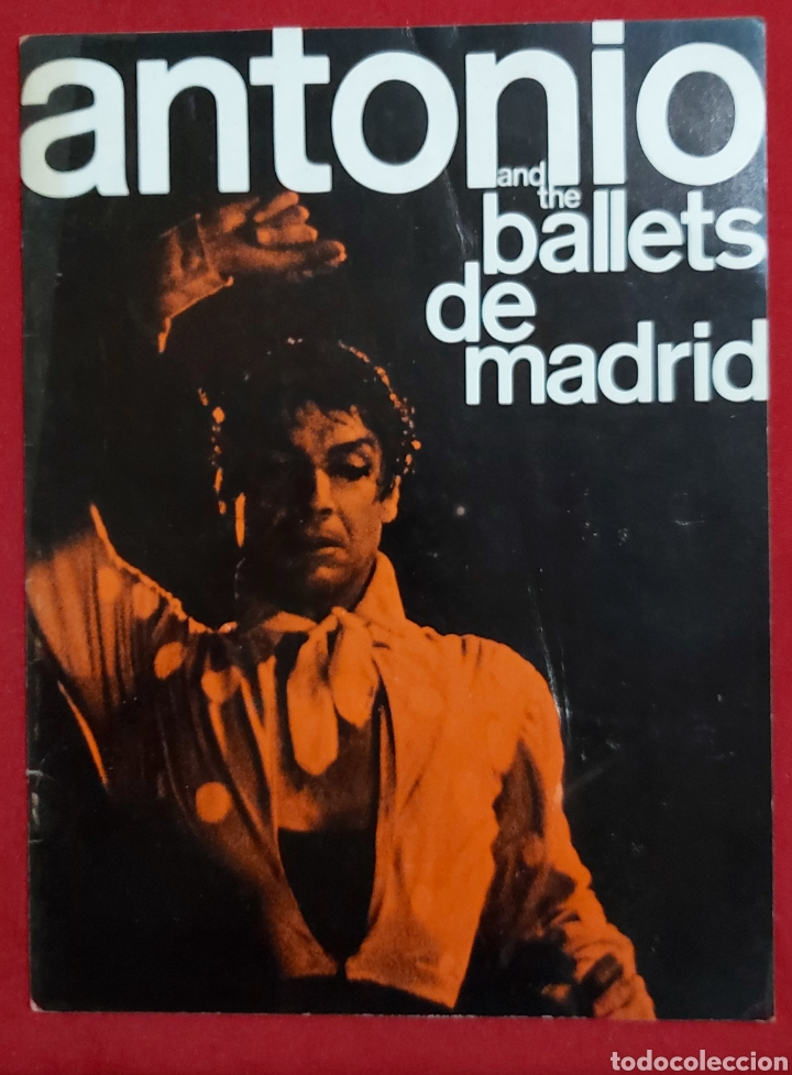 SOL HUROK PRESENTS ANTONIO AND THE BALLETS DE MADRID (Coleccionismo - Catálogos Publicitarios)
