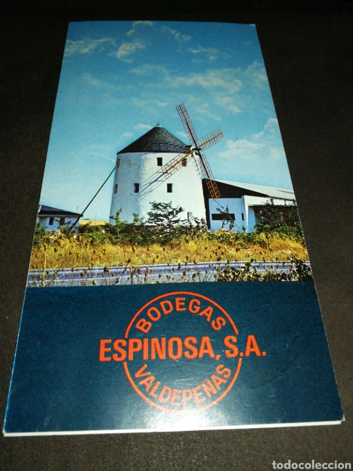 Catálogos publicitarios: VALDEPEÑAS, FOLLETO BODEGAS ESPINOSA, AÑO 1971.. - Foto 2 - 195340972