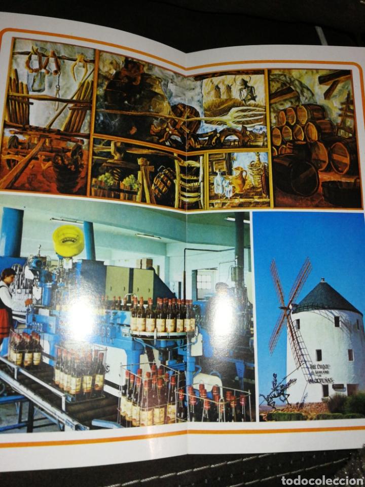 Catálogos publicitarios: VALDEPEÑAS, FOLLETO BODEGAS ESPINOSA, AÑO 1971.. - Foto 4 - 195340972