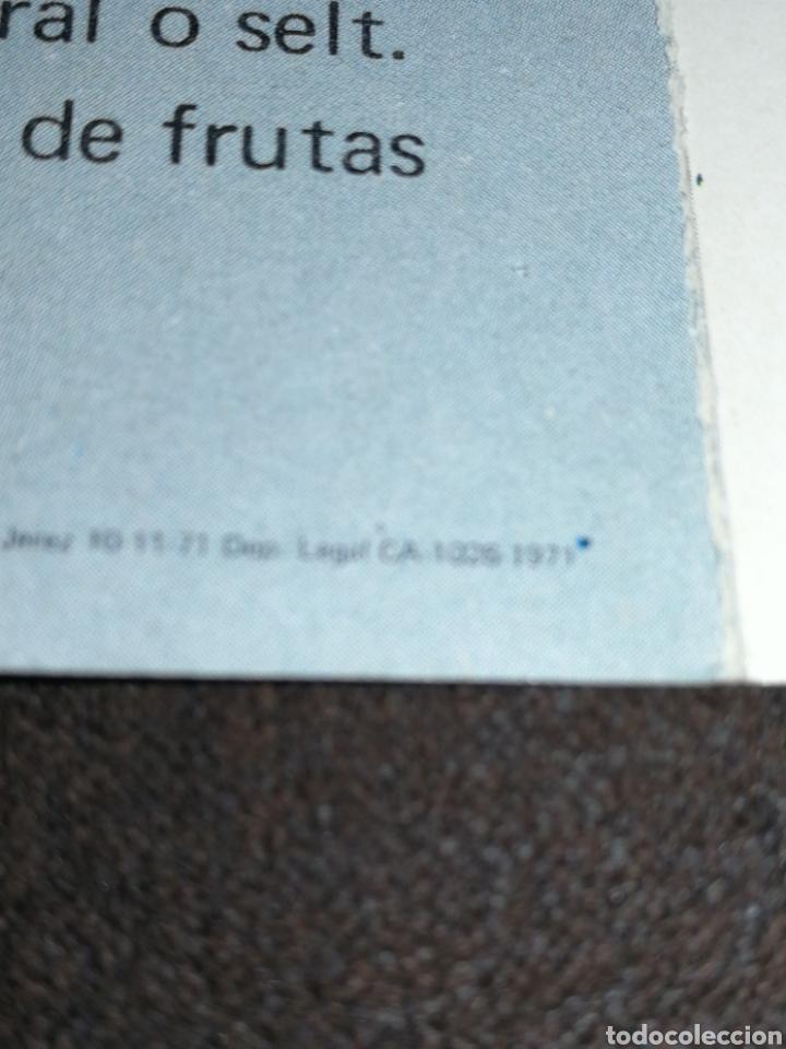 Catálogos publicitarios: VALDEPEÑAS, FOLLETO BODEGAS ESPINOSA, AÑO 1971.. - Foto 5 - 195340972