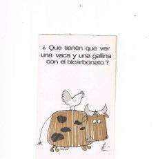 Catálogos publicitarios: FOLLETO PUBLICIDAD EXPOQUIMIA 78 BICARBONATO SODICO. Lote 195367832