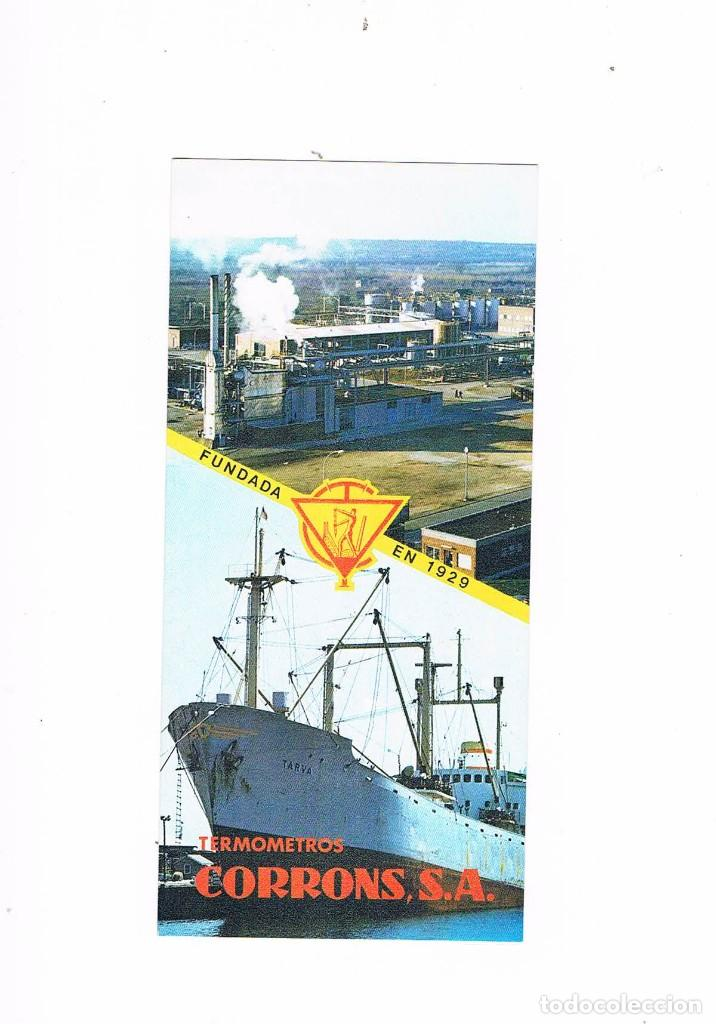 FOLLETO PUBLICIDAD EXPOQUIMIA 78 TERMOMETROS CORRONS SA SUPER VULCANIA SET MARS EFFELI JAP CORMING (Coleccionismo - Catálogos Publicitarios)