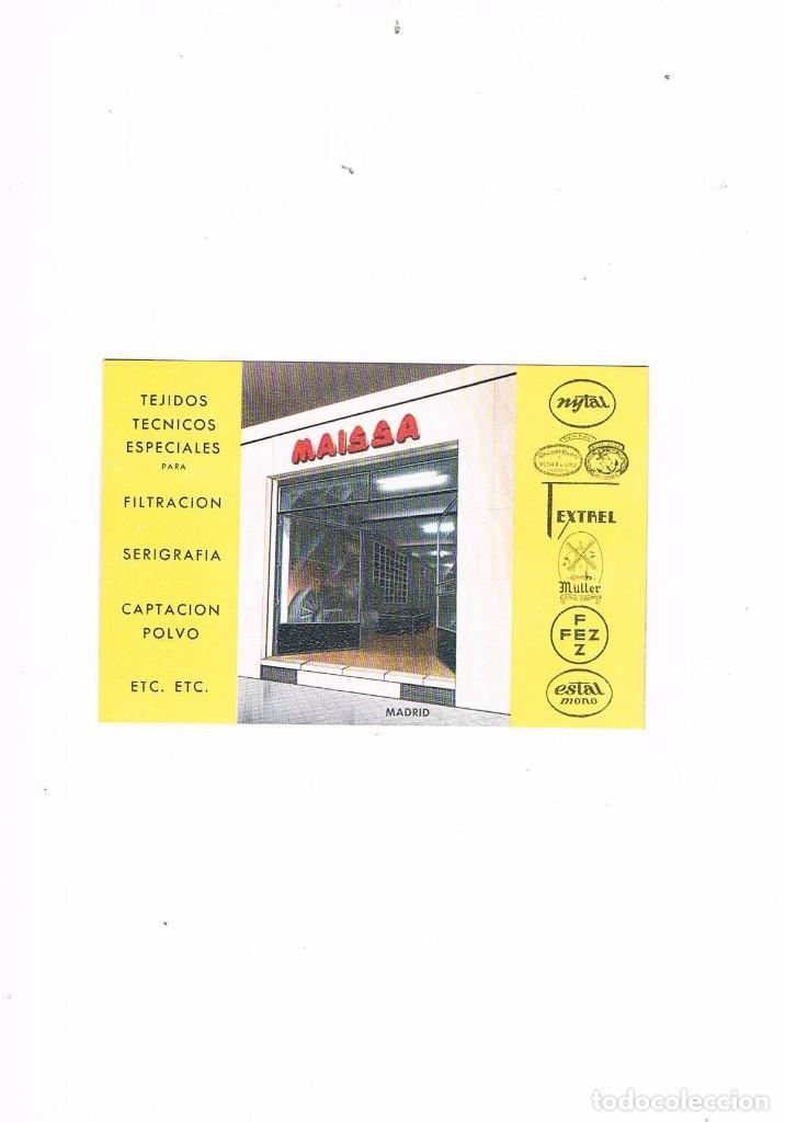 Catálogos publicitarios: FOLLETO PUBLICIDAD EXPOQUIMIA 78 MAISSA IMPORTACIONES EXPORTACIONES SUMINISTROS INDUSTRIALES - Foto 2 - 195368117