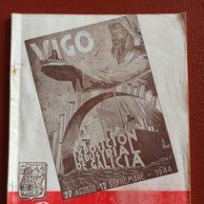 Catálogos publicitarios: EXPOSICIÓN INDUSTRIAL DE GALICIA. VIGO 1944, GUÍA OFICIAL.. Lote 195383783