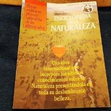 Catálogos publicitarios: FOLLETO PROMOCIONAL PLAN OBRA ENCICLOPEDIA NATURALEZA DEBATE ITACA ADENA AÑOS 90. Lote 195437047