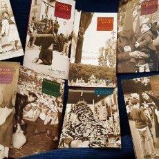 Catálogos publicitarios: LOTE 8 GUÍAS ITINERARIO SEMANA SANTA SEVILLA AÑO 2005 CAJA SAN FERNANDO Y LAMINA CARTEL 2007. Lote 195450325