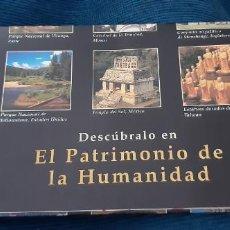 Catálogos publicitarios: FOLLETO PROMOCIONAL COLECCION PATRIMONIO DE LA HUMANIDAD CLUB INTERNACIONAL DEL LIBRO AÑOS 90. Lote 195456525