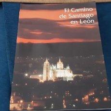 Catálogos publicitarios: CARPETA PROMOCIONAL TURISMO RUTA CON 10 LÁMINAS CAMINO DE SANTIAGO EN LEÓN AÑO 1994 . Lote 195457963