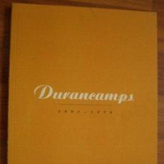 Catálogos publicitarios: DURANCAMPS 1891-1979. GALERIA ARTE MANEL MAYORAL. Lote 195470967