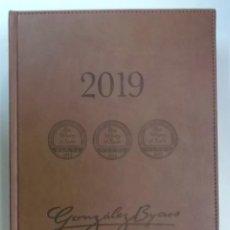 Catálogos publicitarios: AGENDA CATALOGO PUBLICITARIO DE BODEGAS GONZALEZ BYASS DE 2019. Lote 195472428