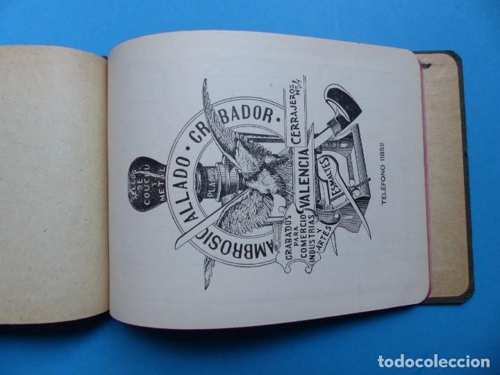Catálogos publicitarios: SELLOS GRABADOS MARCAS - AMBROSIO ALLADO, GRABADOR - VALENCIA - AÑO 1930 - Foto 2 - 195498141