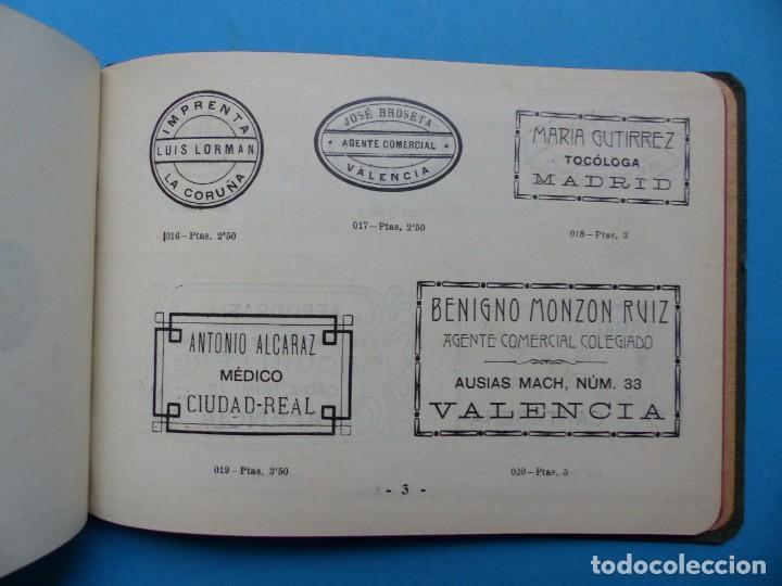 Catálogos publicitarios: SELLOS GRABADOS MARCAS - AMBROSIO ALLADO, GRABADOR - VALENCIA - AÑO 1930 - Foto 3 - 195498141