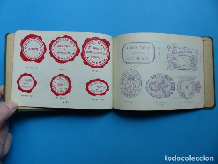 Catálogos publicitarios: SELLOS GRABADOS MARCAS - AMBROSIO ALLADO, GRABADOR - VALENCIA - AÑO 1930 - Foto 5 - 195498141