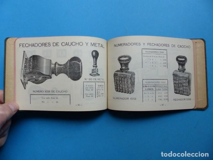 Catálogos publicitarios: SELLOS GRABADOS MARCAS - AMBROSIO ALLADO, GRABADOR - VALENCIA - AÑO 1930 - Foto 10 - 195498141