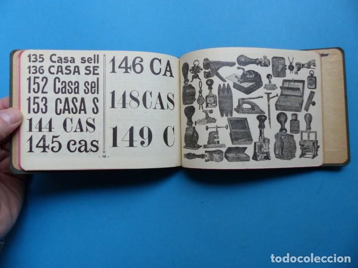 Catálogos publicitarios: SELLOS GRABADOS MARCAS - AMBROSIO ALLADO, GRABADOR - VALENCIA - AÑO 1930 - Foto 12 - 195498141