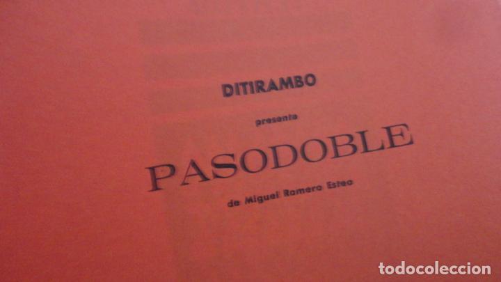 Catálogos publicitarios: ANTIGUO DIPTICO.TEATRO.DITIRAMBO.PASODOBLE MIGUEL ROMERO ESTEO.CAJA AHORROS.SEVILLA - Foto 3 - 195505010
