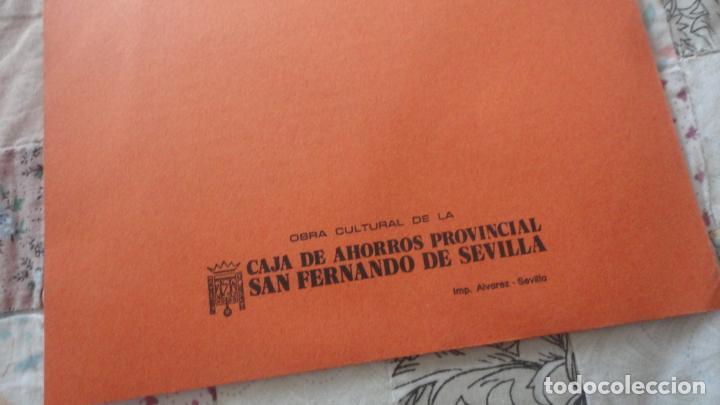Catálogos publicitarios: ANTIGUO DIPTICO.TEATRO.DITIRAMBO.PASODOBLE MIGUEL ROMERO ESTEO.CAJA AHORROS.SEVILLA - Foto 5 - 195505010