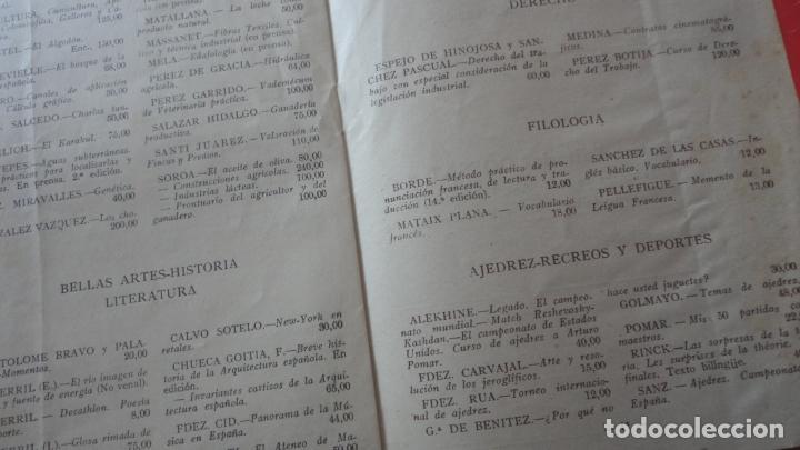 Catálogos publicitarios: EDITORIAL DOSSAT S.A . CATALOGO 1953. - Foto 4 - 195505483