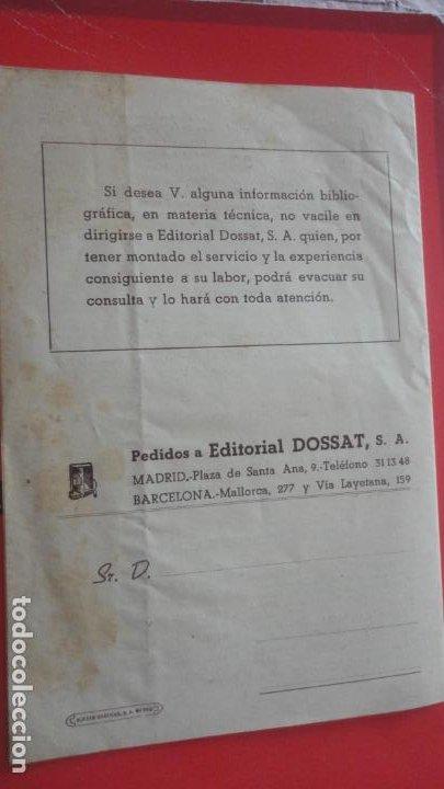 Catálogos publicitarios: EDITORIAL DOSSAT S.A . CATALOGO 1953. - Foto 5 - 195505483
