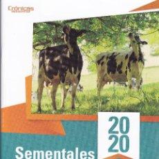Catálogos publicitarios: CATALOGO DE SEMENTALES VACUNOS DE LECHE DE ABEREKIN DE 2020. Lote 196478897