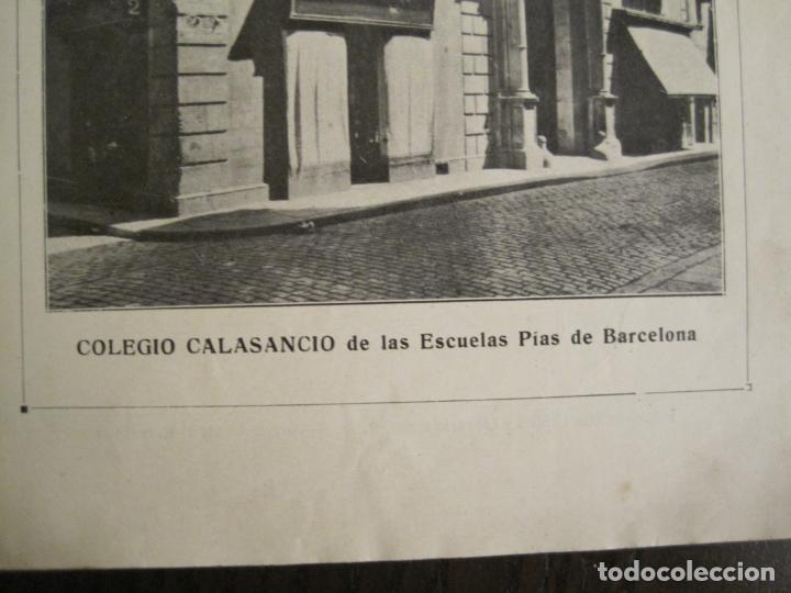 Catálogos publicitarios: CATALOGO PUBLICIDAD-BARCELONA-COLEGIO CALASANCIO DE LAS ESCUELAS PIAS-VER FOTOS-(V-19.384) - Foto 2 - 196803517
